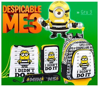 Distributor Wholesale Gru Minions Stationery Back to School