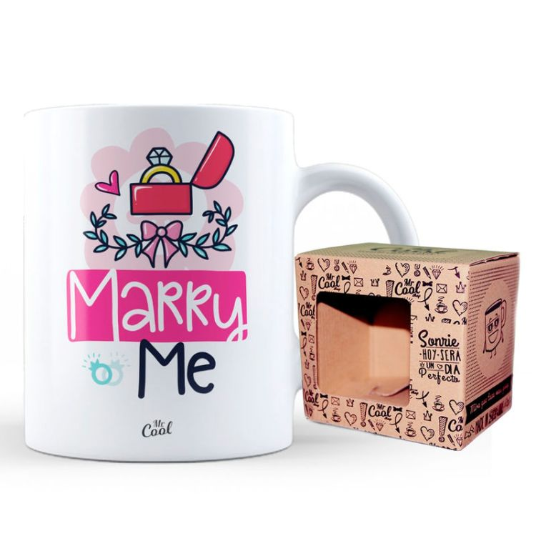 Taza Marry Me