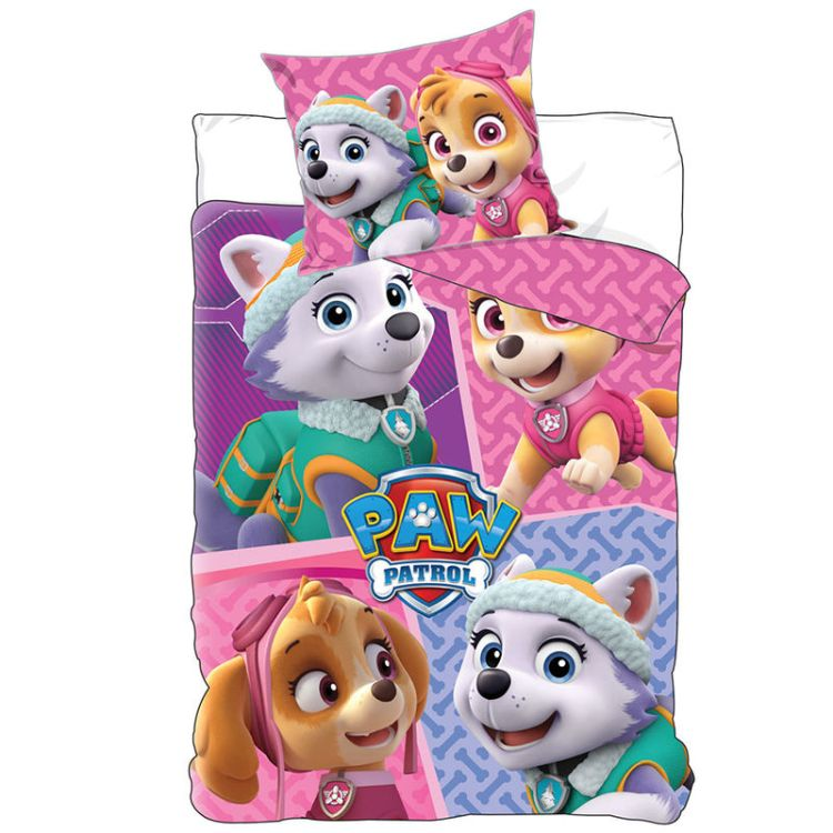 Paw Patrol Skye Everest bedset duvet cover and pillow case