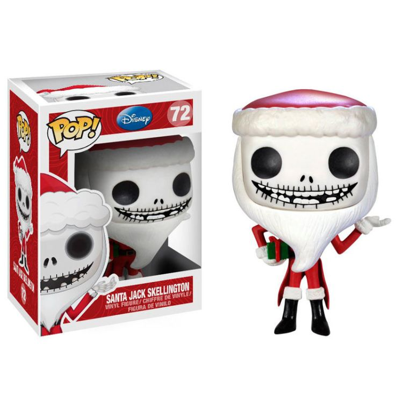 POP figure NBX The Nightmare Before Christmas Santa Jack Skellington ...