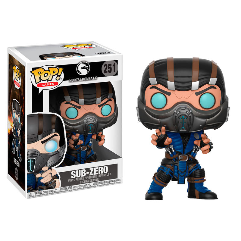 Funko POP o Figura POP Mortal Kombat Sub-Zero