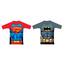 Camiseta baño Batman Superman DC Comics surtido