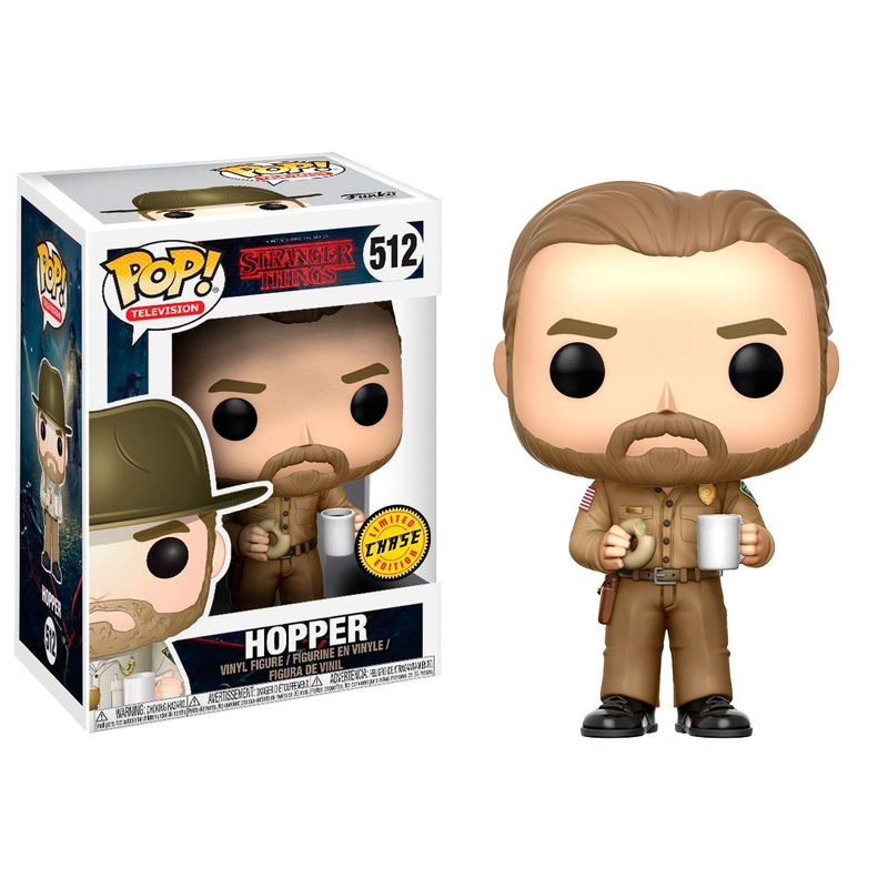 Funko POP o Figura POP Stranger Things Hopper Chase