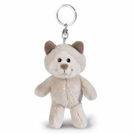 Nici Gray Cat plush key chain 10cm
