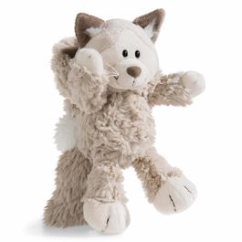 Nici Gray Cat soft plush toy 20cm