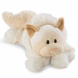 Nici White Cat soft plush toy 30cm