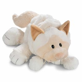 Nici White Cat soft plush toy 50cm