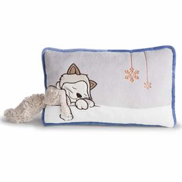 Nici Gray Cat cushion