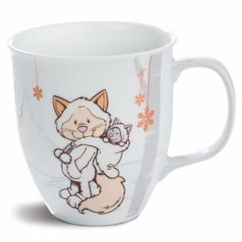 Nici White Cat mug