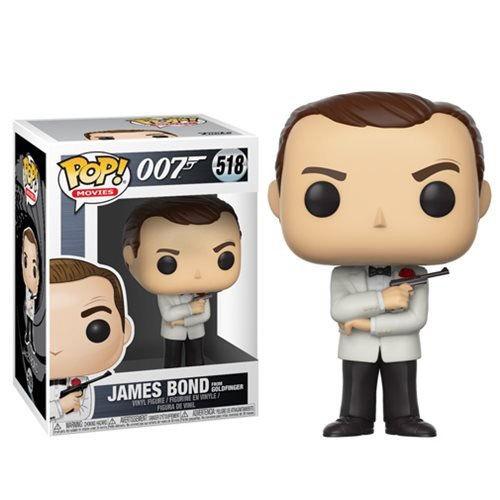 Figura POP James Bond Sean Connery White Tux