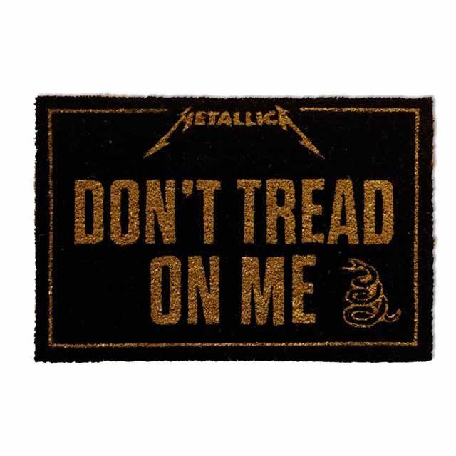 Felpudo Metalica Don't Tread on Me
