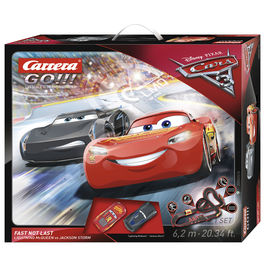 Disney Cars 3 Fast Not Last Carrera GO!!! Circuit