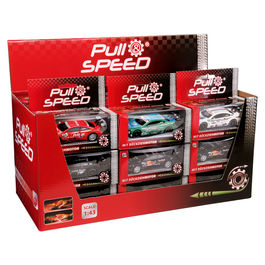 Assorted Pull Speed car blister
