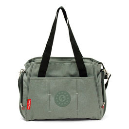 Gray diaper bag 37cm