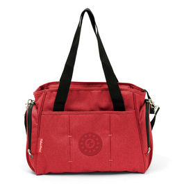 Red diaper bag 37cm