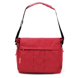 Red diaper bag 36cm