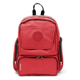Red diaper backpack 42cm