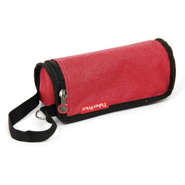 Red bottle case