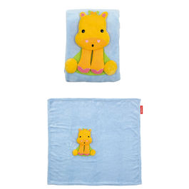 Giraffe soft blanket and plush toy