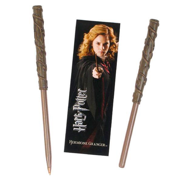 Varita boligrafo y marcapaginas Hermione Granger Harry Potter 812370015061