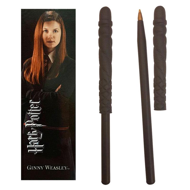 Varita boligrafo y marcapaginas Ginny Weasley Harry Potter