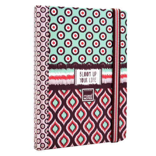 Cuaderno A6 Bloom UP tapa dura