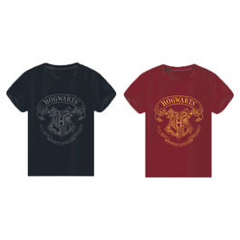 Camiseta Hogwarts Harry Potter surtido