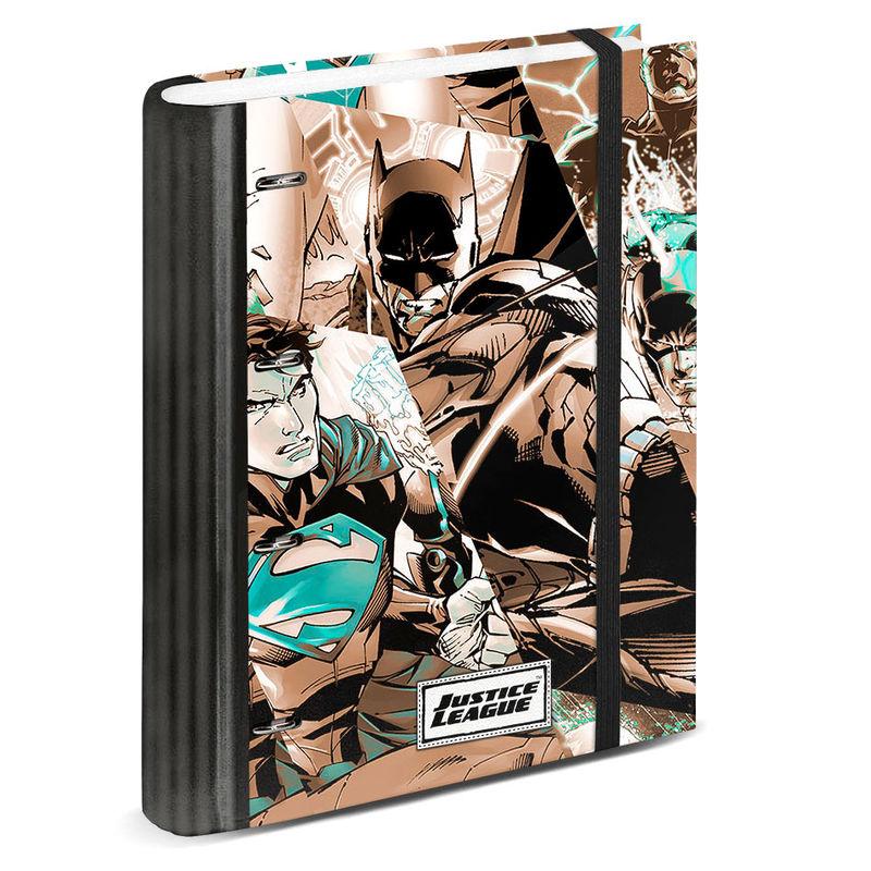 Carpesano A4 Liga de la Justicia DC Comics