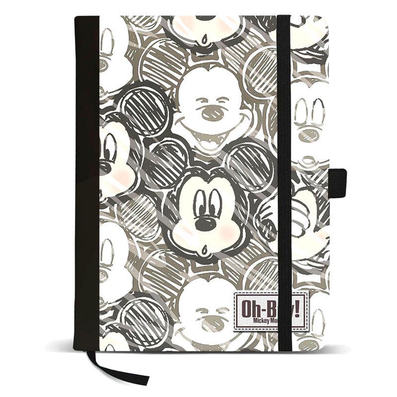 Diario Mickey Disney Oh Boy 8435376375513