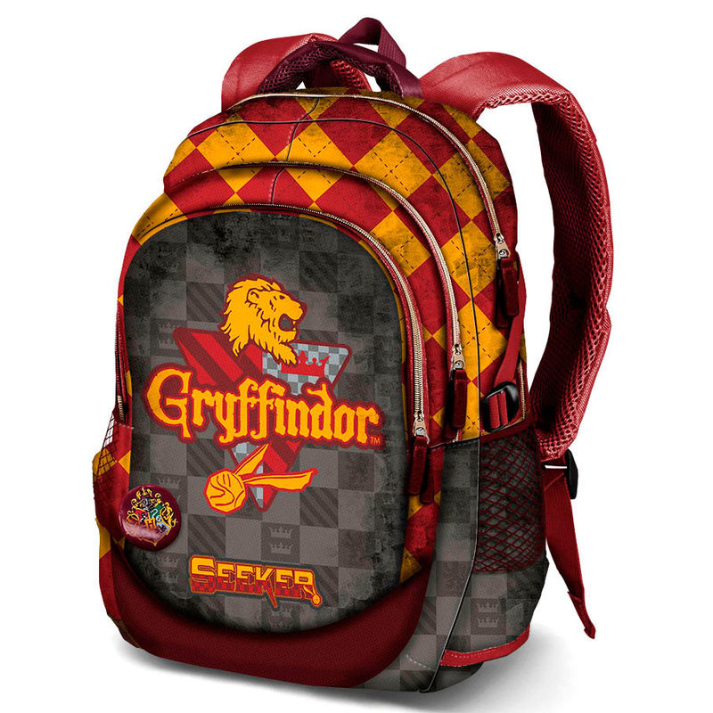 harry potter quidditch gryffindor backpack 44cm. Black Bedroom Furniture Sets. Home Design Ideas