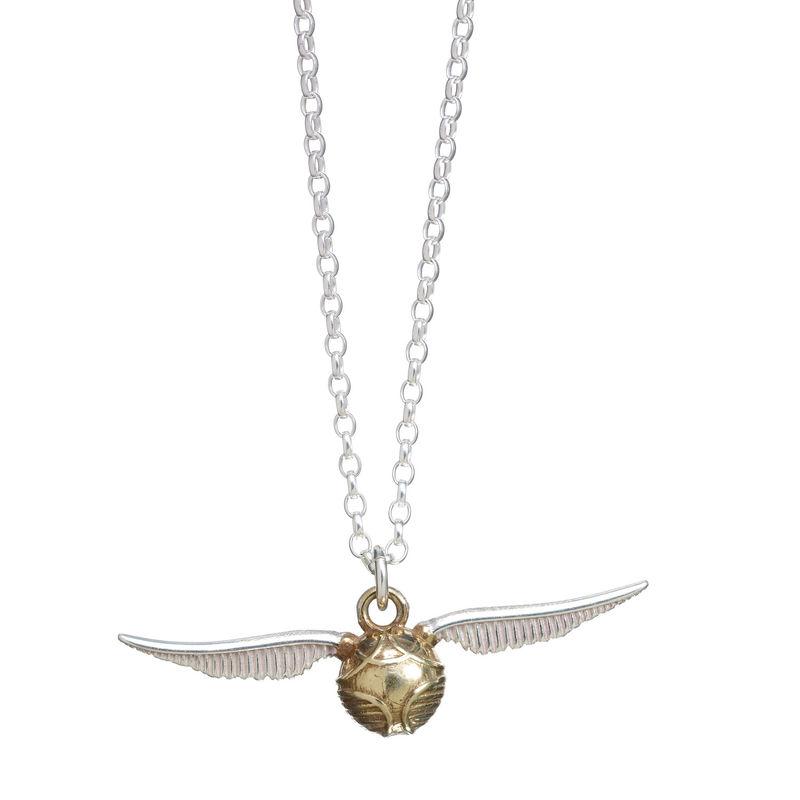 Colgante Golden Snitch Harry Potter plata