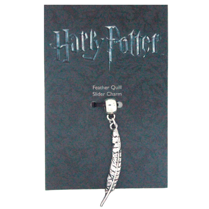 Colgante charm Feather Quill Harry Potter