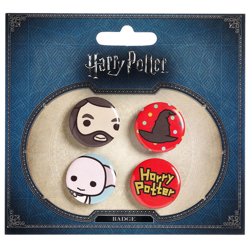 Set 4 pin Harry Potter