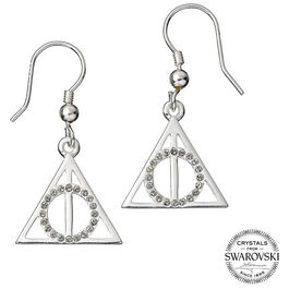 Pendientes swarovski Deathly Hallows Harry Potter