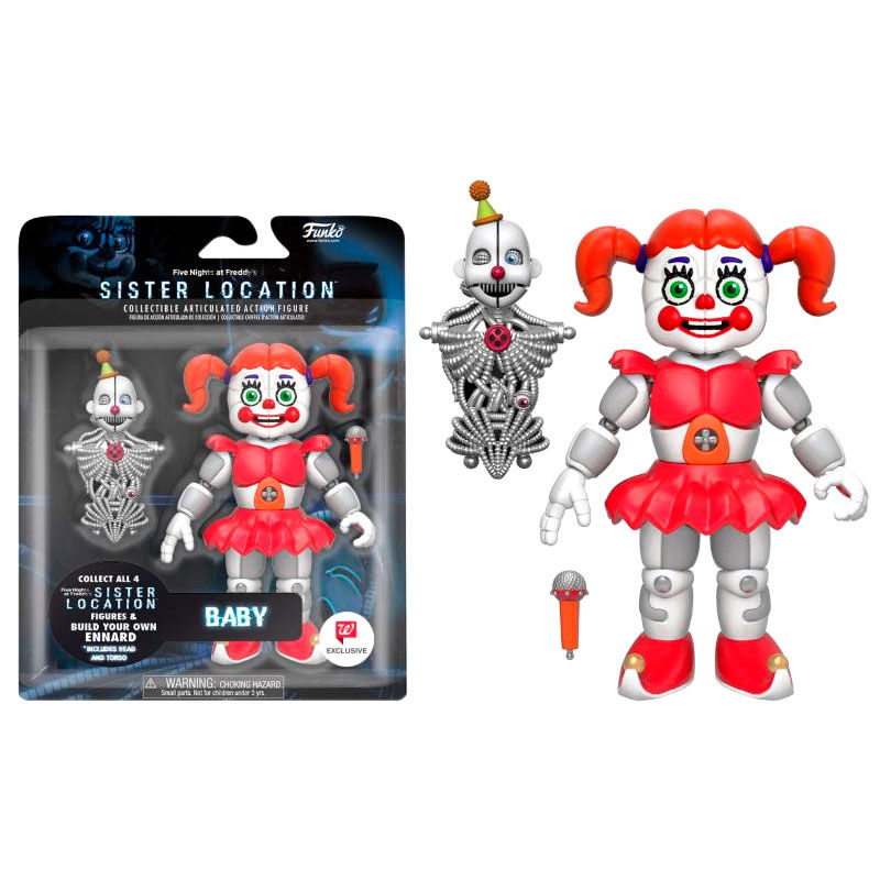 Action Figure Five Nights At Freddys Nigmare Baby Exclusive