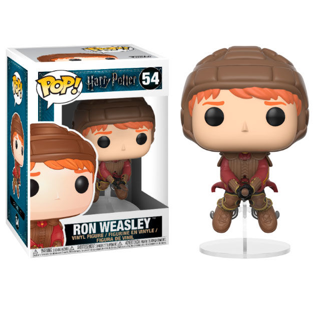 Funko POP o Figura POP Harry Potter Ron Weasley sobre la escoba