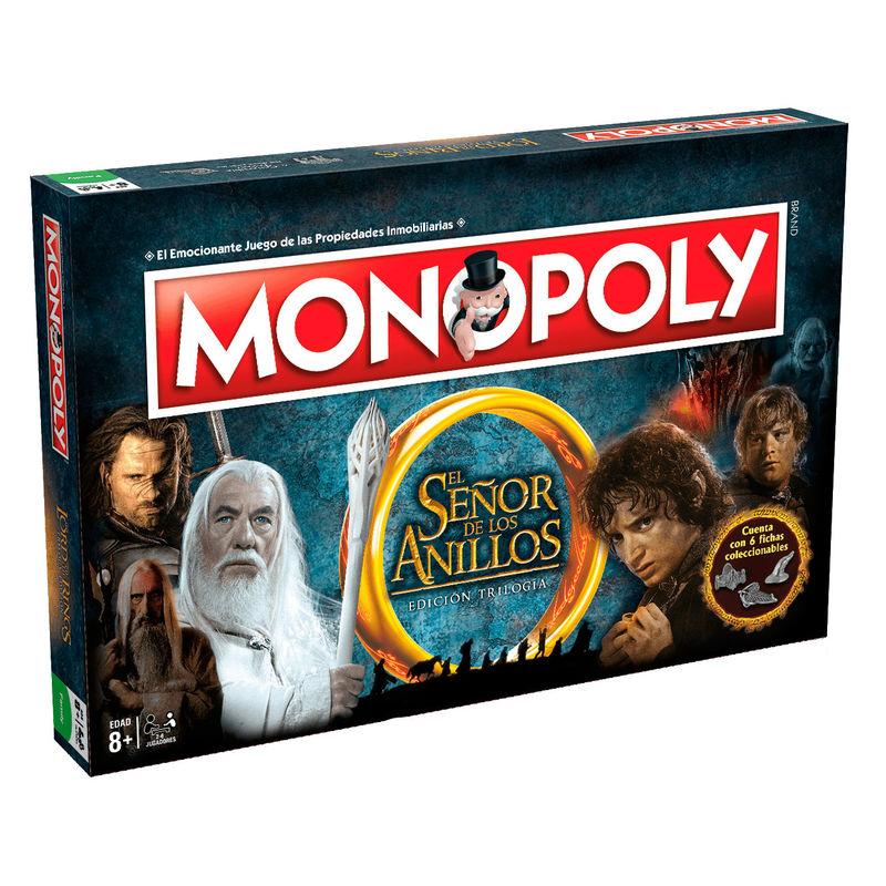 Juego de Mesa Monopoly El Señor de los Anillos