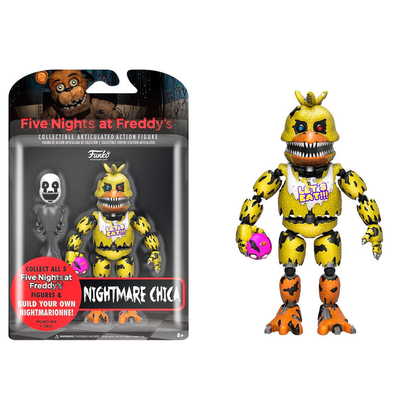 Action Figure Five Nights At Freddys Nightmare Chica