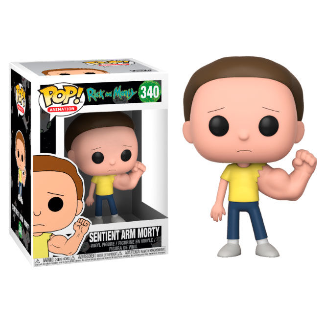 Figura POP Rick & Morty Prison Sentinent Arm Morty