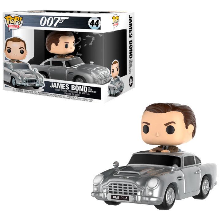 Funko POP o Figura POP James Bond Aston Martin & Sean Connery