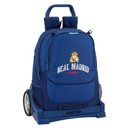 Trolley Real Madrid Basket 43cm carro Evolution