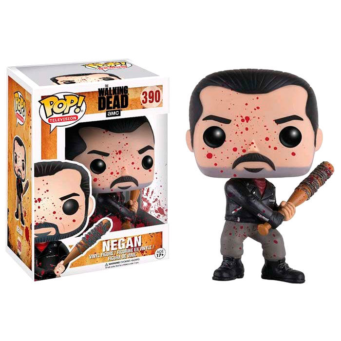 Funko POP o Figura POP The Walking Dead Negan Bloody Exclusive