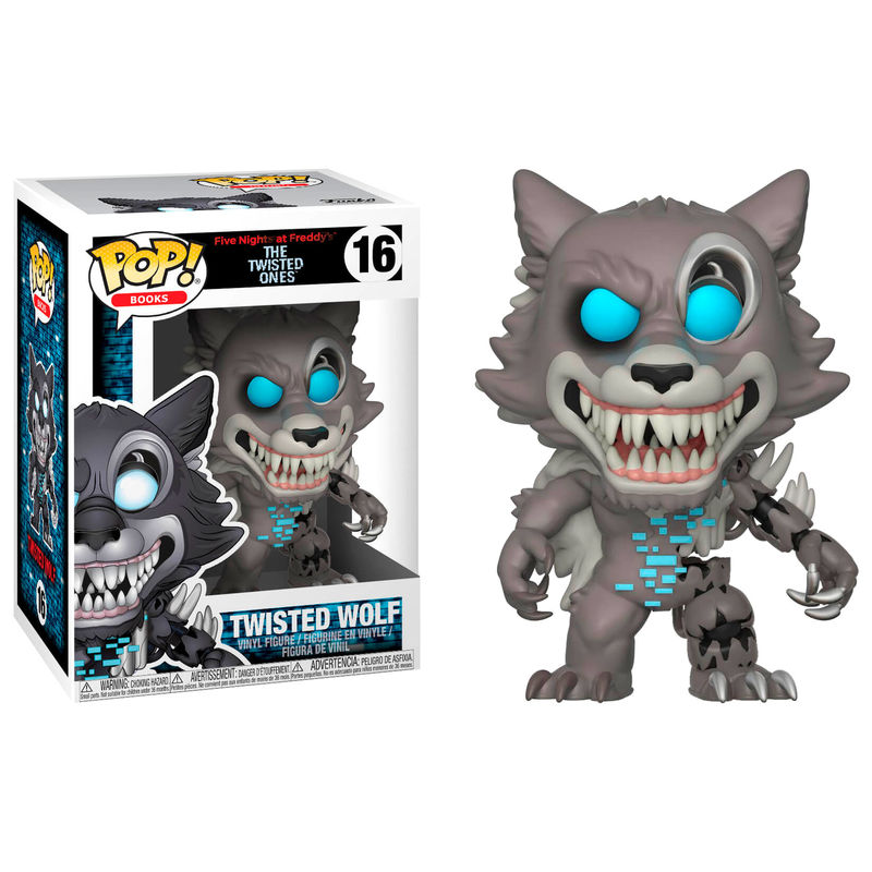 Pop Figure Five Nights At Freddys Twisted Wolf