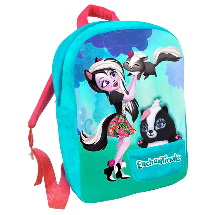 Mochila Patter Peacok Enchantimals peluche 30cm
