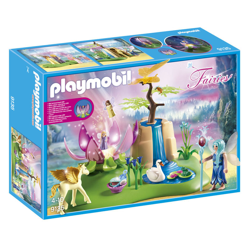 Lago con Hadas Bebe Playmobil Fairies