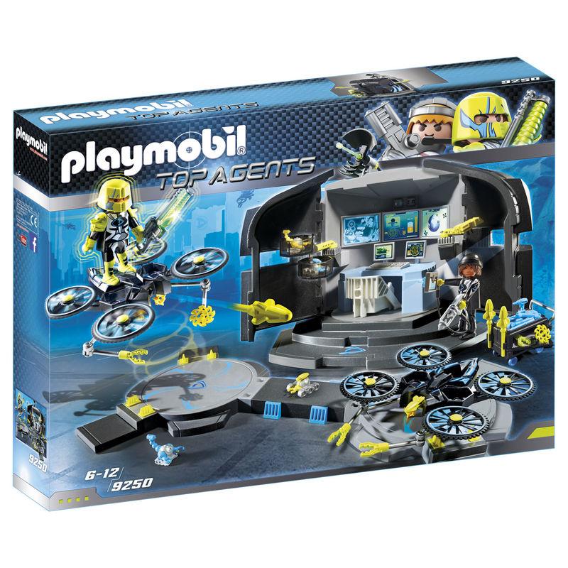 Centro de Mando del Dr.Drone Playmobil Top Agents