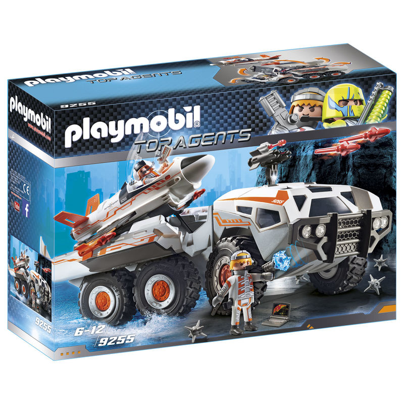 Camion Spy Team Playmobil Top Agents