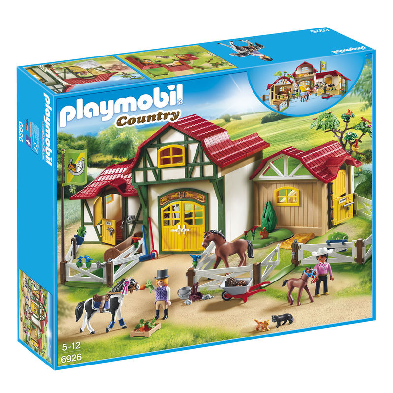 Granja de Caballos Playmobil Country