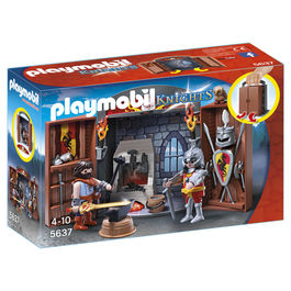 Cofre Caballeros Playmobil Knigths