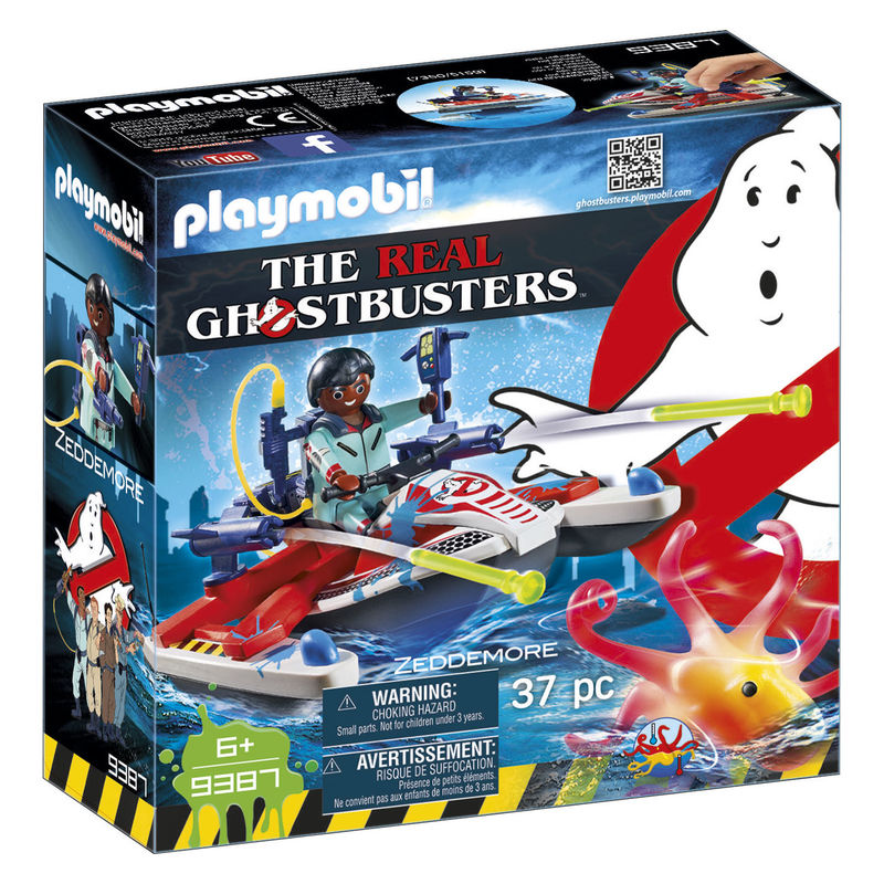 playmobil ghostbusters zeddemore with jet ski - Playmobil Ski